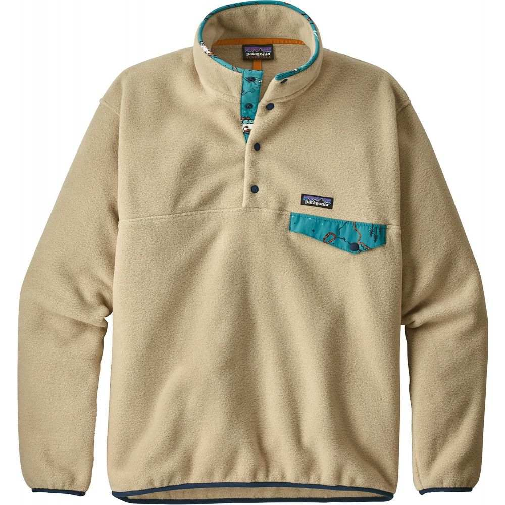 パタゴニア Patagonia メンズ フリース トップス【Lightweight Synchilla Snap-T Fleece Pullover】El Cap Khaki