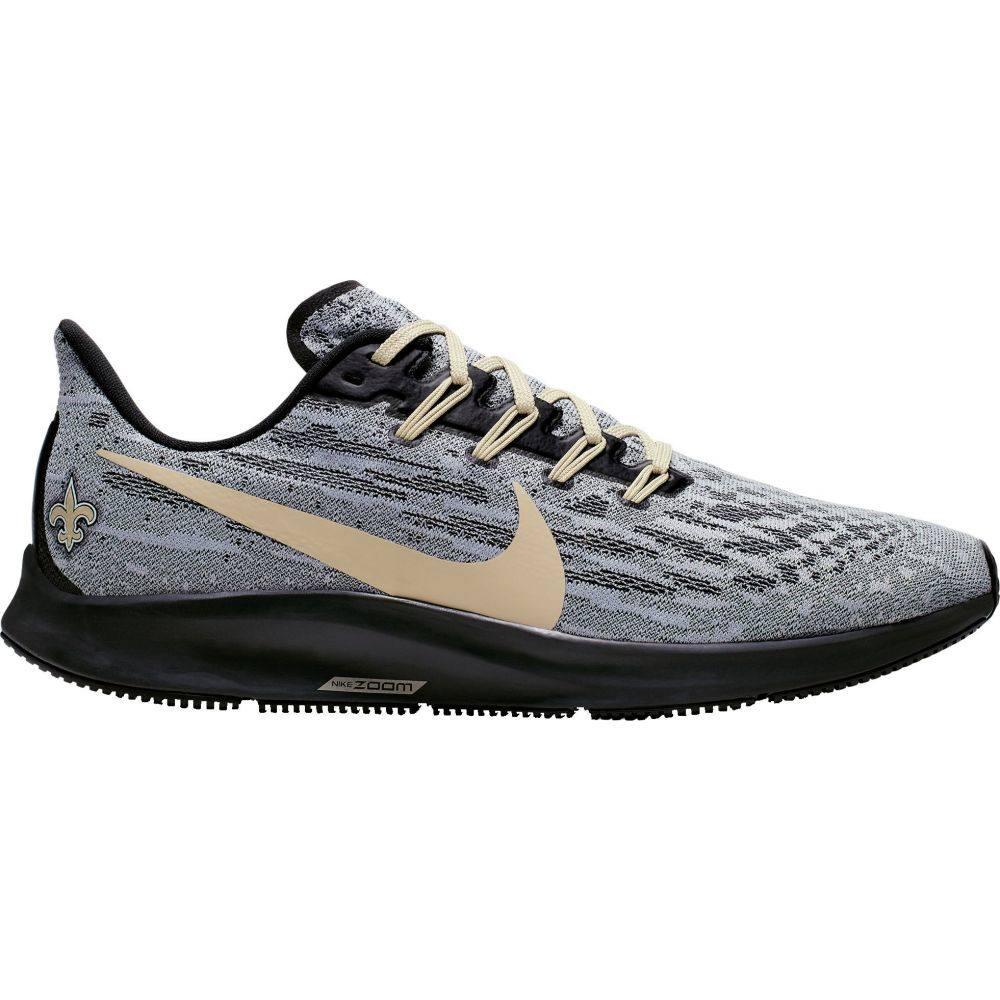 ナイキ Nike メンズ スニーカー シューズ・靴【New Orleans Saints Air Zoom Pegasus 36】Grey/Black
