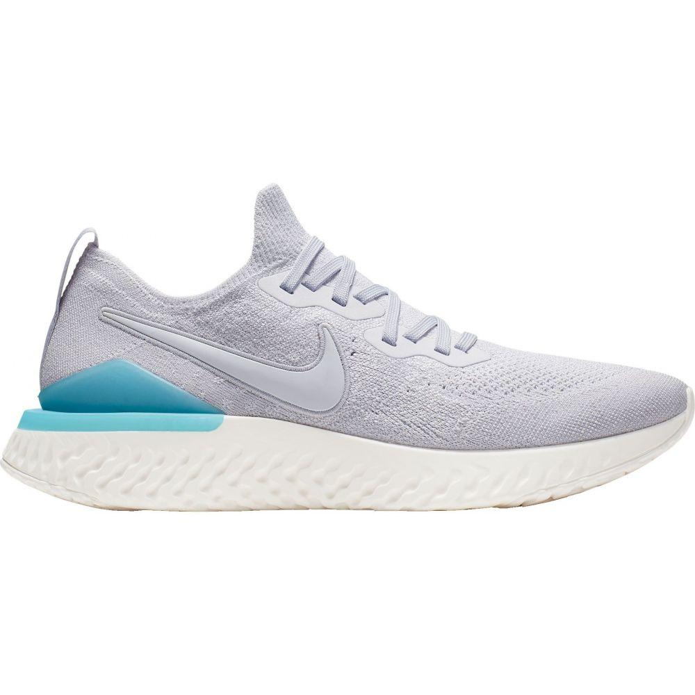 ナイキ Nike メンズ ランニング・ウォーキング シューズ・靴【Epic React Flyknit 2 Running Shoes】Grey/Blue
