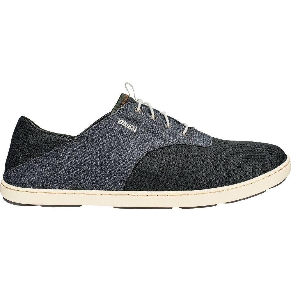 オルカイ OluKai メンズ シューズ・靴 【Nohea Moku Casual Shoes】Dark Shadow/Dark Shadow