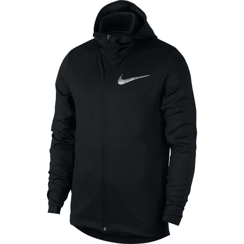 ナイキ Nike メンズ ジャケット フード アウター【Therma Flex Showtime Hooded Full Zip Jacket】Black/White