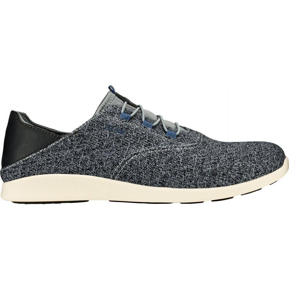 オルカイ OluKai メンズ シューズ・靴 【Alapa Li Casual Shoes】Charcoal/Charcoal