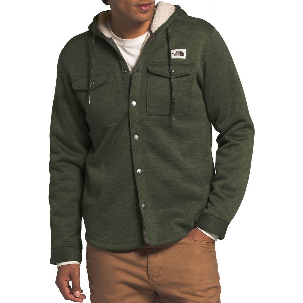 ザ ノースフェイス The North Face メンズ フリース トップス【Sherpa Patrol Snap Up Fleece】New Taupe Green Heather