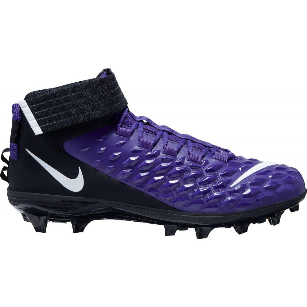 ナイキ Nike メンズ アメリカンフットボール スパイク シューズ・靴【Force Savage Pro 2 Mid Football Cleats】Purple/White/Black