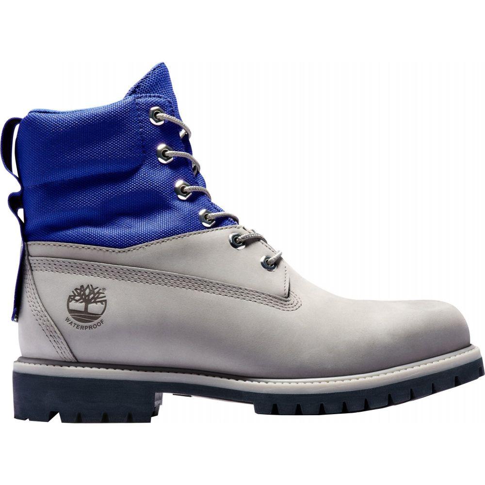 ティンバーランド Timberland メンズ ブーツ シューズ・靴【6'' Waterproof ReBOTL Fabric Boots】Medium Grey Nubuck