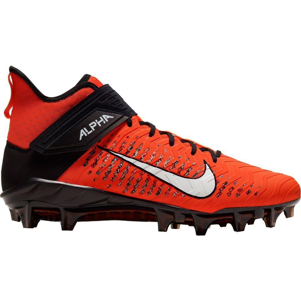 ナイキ Nike メンズ アメリカンフットボール スパイク シューズ・靴【Alpha Menace Pro 2 Mid Football Cleats】Team Orange/White/Black