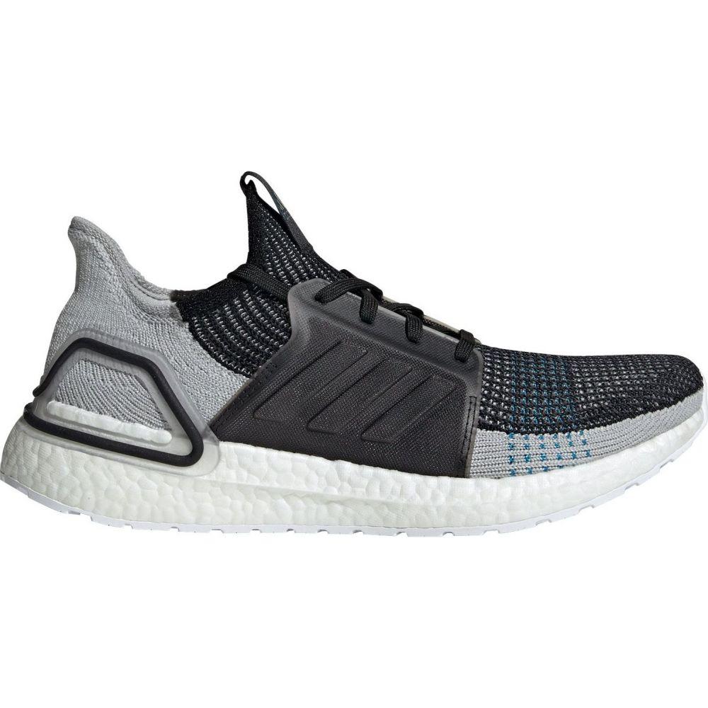 アディダス adidas メンズ ランニング・ウォーキング シューズ・靴【Ultraboost 19 Running Shoes】Black/Grey/Shock Cyan