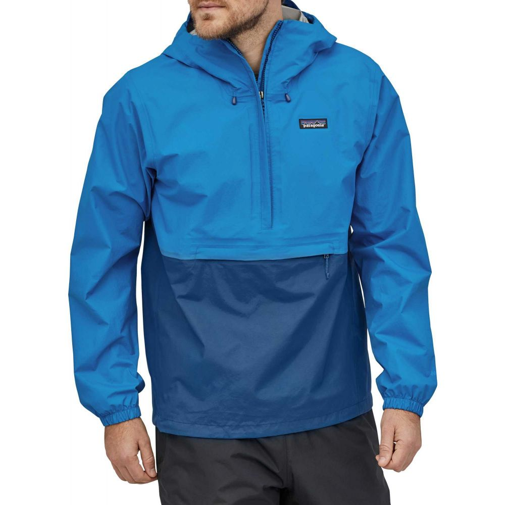 パタゴニア Patagonia メンズ ジャケット ハーフジップ アウター【Torrentshell 3L 1/2 Zip Pullover】Andes Blue