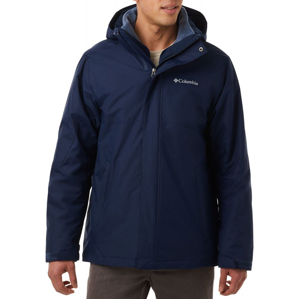 コロンビア Columbia メンズ ジャケット アウター【Eager Air Interchange Jacket (Regular and Big & Tall)】Collegiate Navy