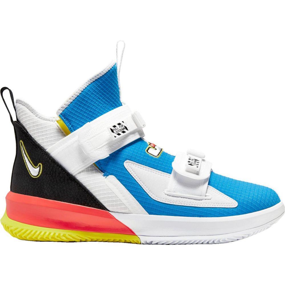 ナイキ Nike メンズ バスケットボール シューズ・靴【LeBron Soldier 13 SFG Basketball Shoes】Lt Blue/Lt Blue/Black
