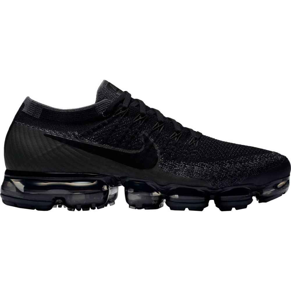 ナイキ Nike メンズ ランニング・ウォーキング シューズ・靴【Air VaporMax Flyknit Running Shoes】Black/Grey