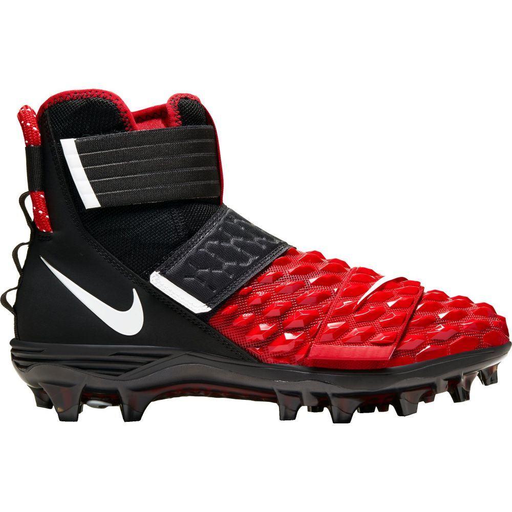 ナイキ Nike メンズ アメリカンフットボール スパイク シューズ・靴【Force Savage Elite 2 Football Cleats】Black/White/University Red