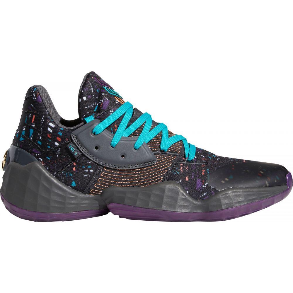 アディダス adidas メンズ バスケットボール シューズ・靴【Harden Vol. 4 Basketball Shoes】Blk/Amber/Grey