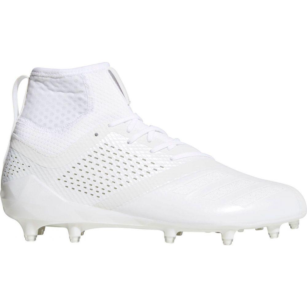 アディダス adidas メンズ アメリカンフットボール スパイク シューズ・靴【adiZERO 5-Star 7.0 SK Mid Football Cleats】White/White