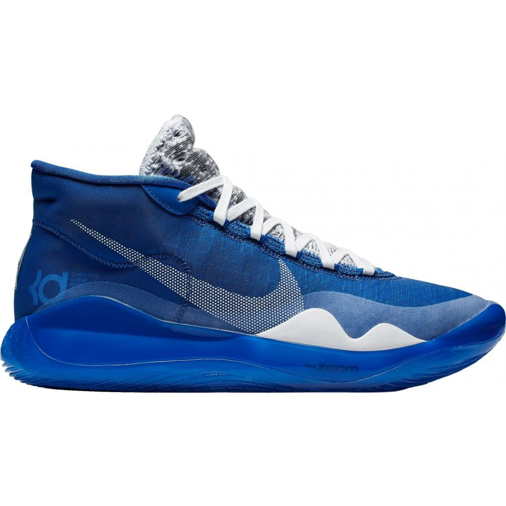 ナイキ Nike メンズ バスケットボール シューズ・靴【Zoom KD 12 Basketball Shoes】Game Royal/White