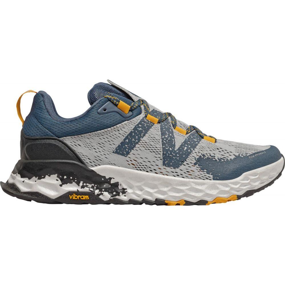 ニューバランス New Balance メンズ ランニング・ウォーキング シューズ・靴【Hierro v5 Trail Running Shoes】Silver/Yellow