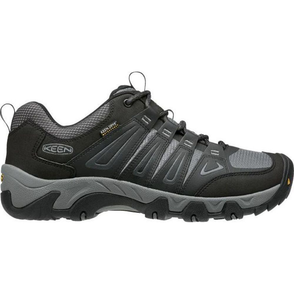 キーン Keen メンズ ハイキング・登山 シューズ・靴【KEEN Oakridge Waterproof Hiking Shoes】Magnet/Gargoyle
