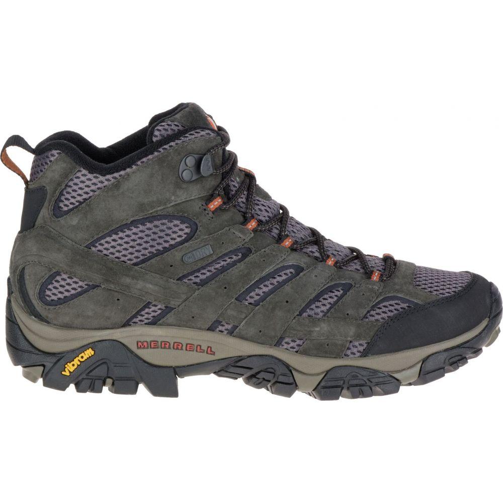 メレル Merrell メンズ ハイキング・登山 ブーツ シューズ・靴【Moab 2 Mid Waterproof Hiking Boots】Beluga