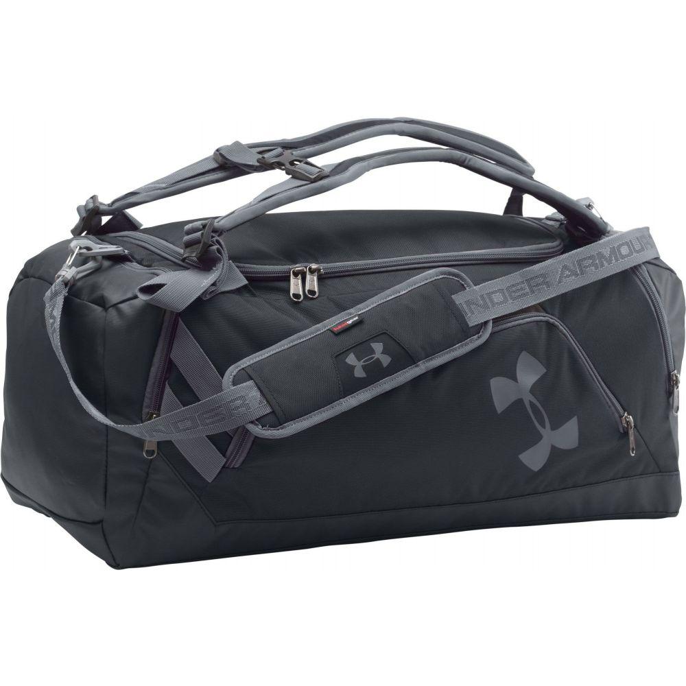 アンダーアーマー Under Armour ユニセックス バックパック・リュック バッグ【Contain Duo Backpack Duffle】Black/Black/Silver