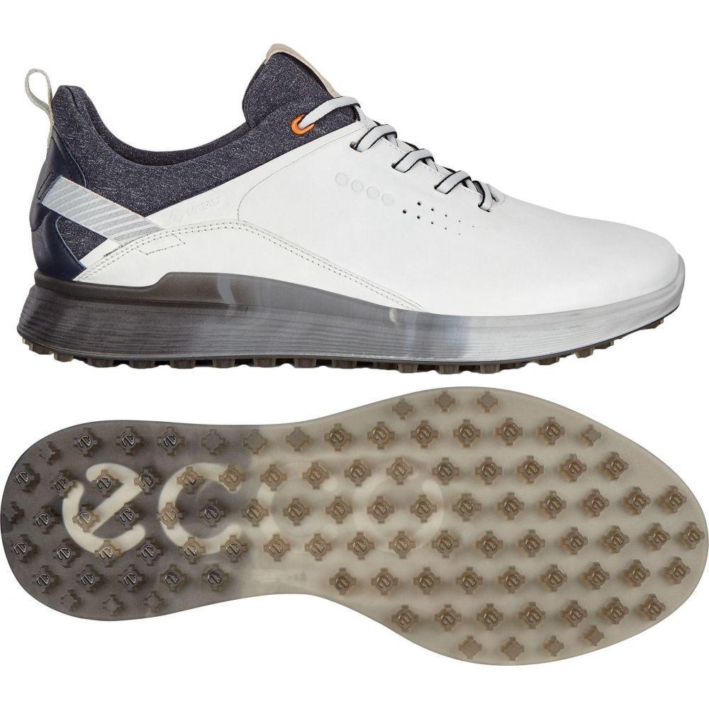 エコー ECCO メンズ ゴルフ シューズ・靴【S-Three Golf Shoe】White