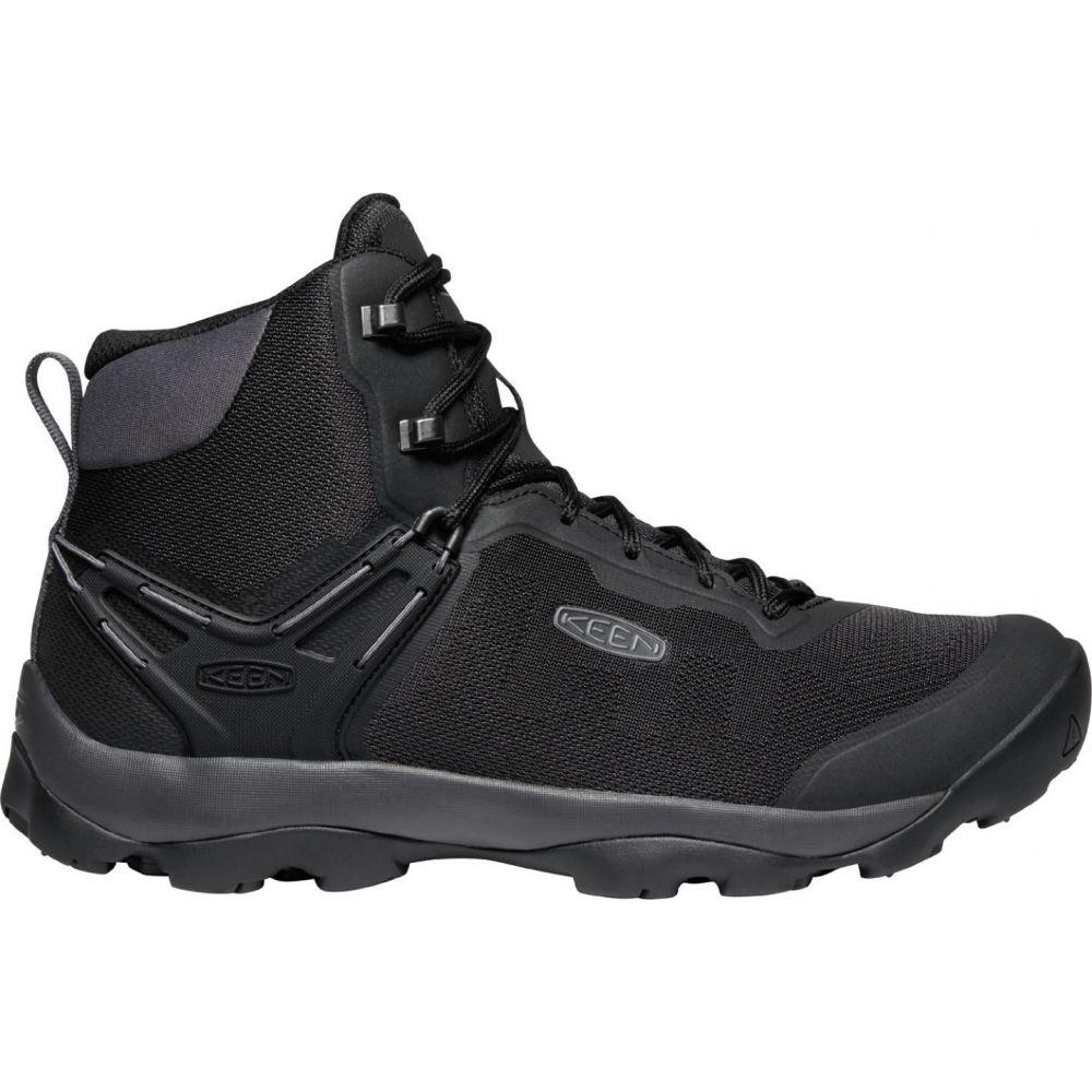 キーン Keen メンズ ハイキング・登山 ブーツ シューズ・靴【KEEN Venture Vent Mid Hiking Boots】Black/Magnet