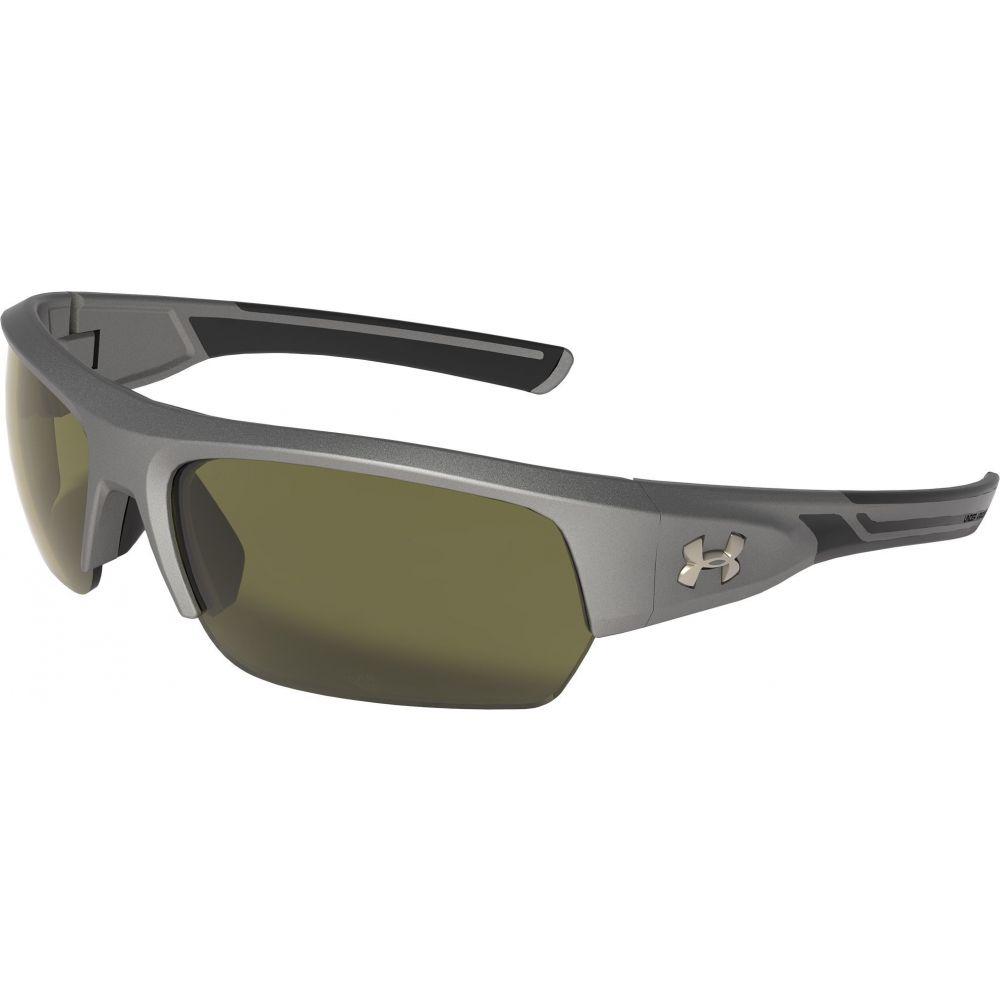 アンダーアーマー Under Armour ユニセックス メガネ・サングラス 【Big Shot Sunglasses】Satin Carbon/Game Day