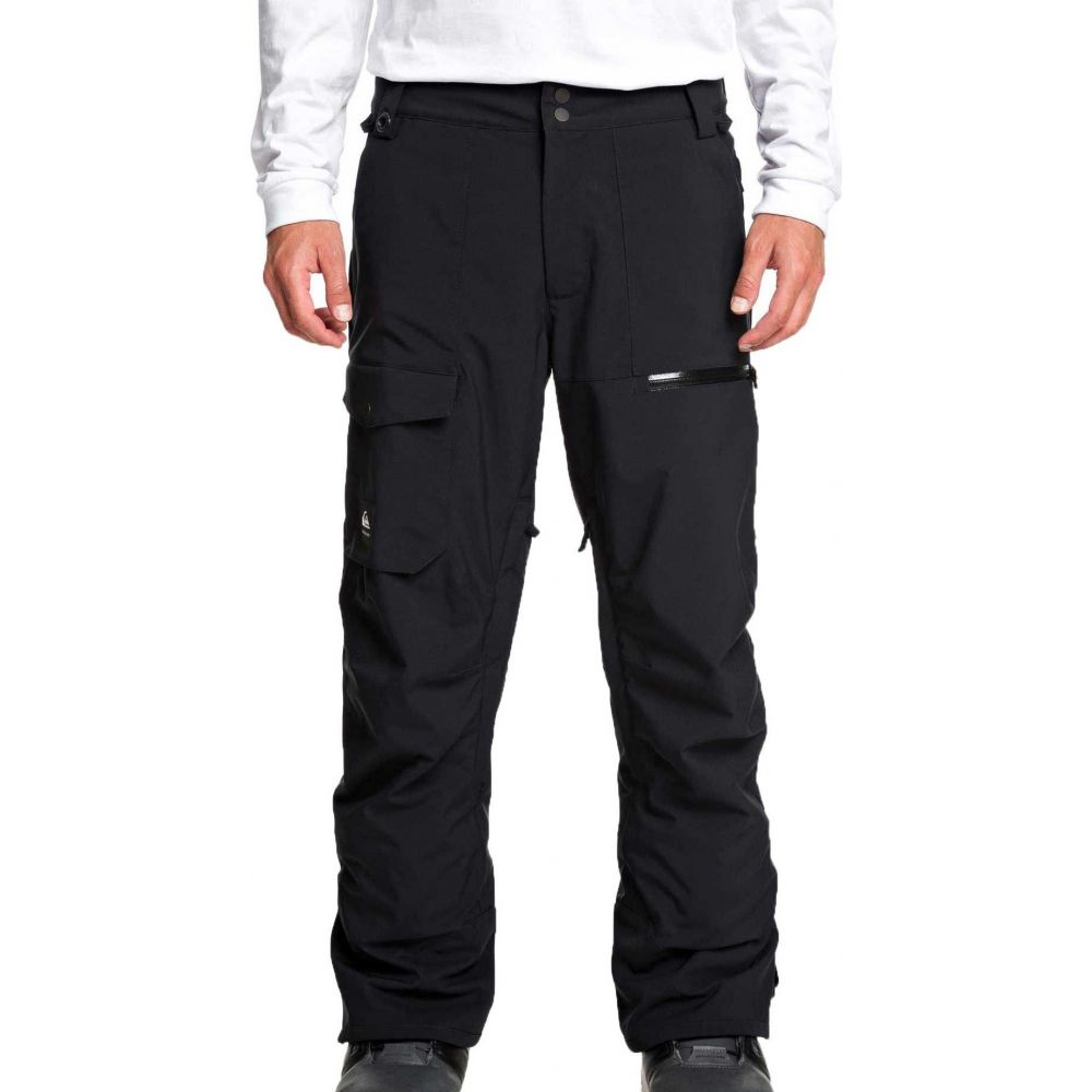 クイックシルバー Quiksilver メンズ スキー・スノーボード ボトムス・パンツ【Utility Snow Pants】Black