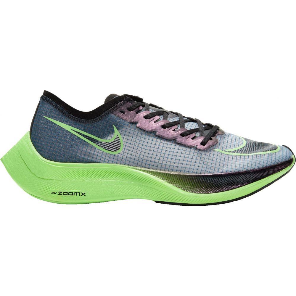 ナイキ Nike メンズ ランニング・ウォーキング シューズ・靴【ZoomX Vaporfly Next% Running Shoes】Blue/Green/Black
