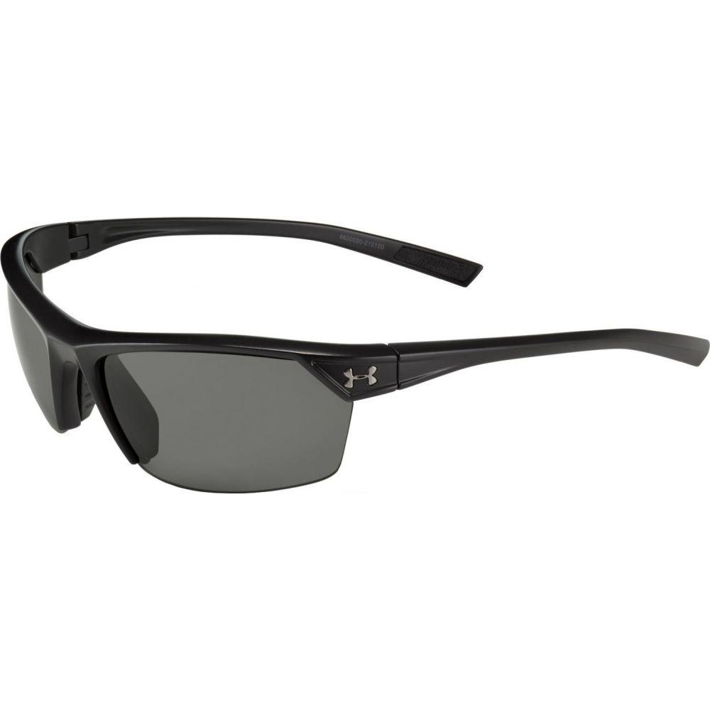 アンダーアーマー Under Armour ユニセックス メガネ・サングラス 【Zone 2.0 Sunglasses】Satin Black/Gray