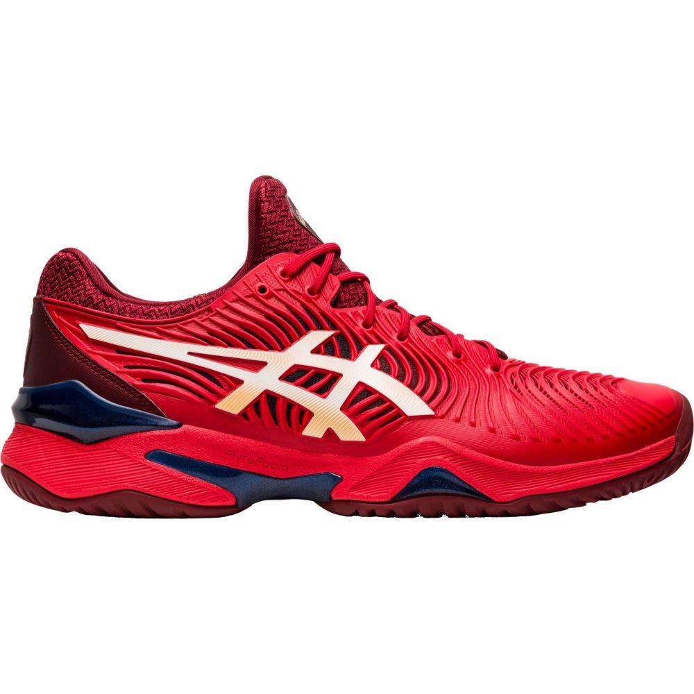 アシックス ASICS メンズ テニス シューズ・靴【GEL-Court FF 2 Tennis Shoes】Red/White