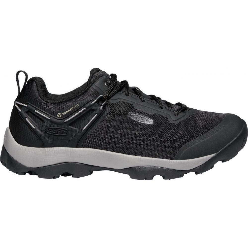 キーン Keen メンズ ハイキング・登山 シューズ・靴【KEEN Venture Vent Hiking Shoes】Raven/Black
