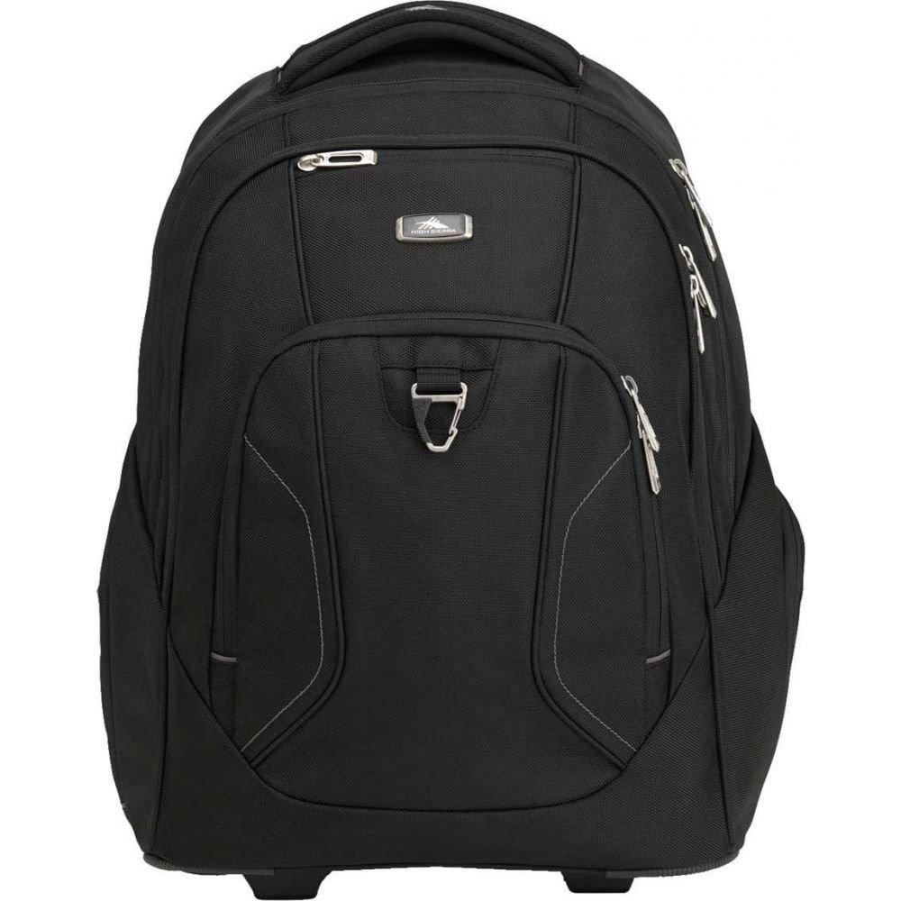 ハイシエラ High Sierra ユニセックス バックパック・リュック バッグ【Endeavor Wheeled Backpack】Black