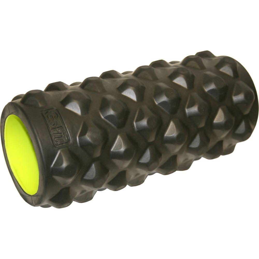 ゴーフィット GoFit ユニセックス フィットネス・トレーニング マッサージローラー【13 Extreme Massage Roller】Black/Green