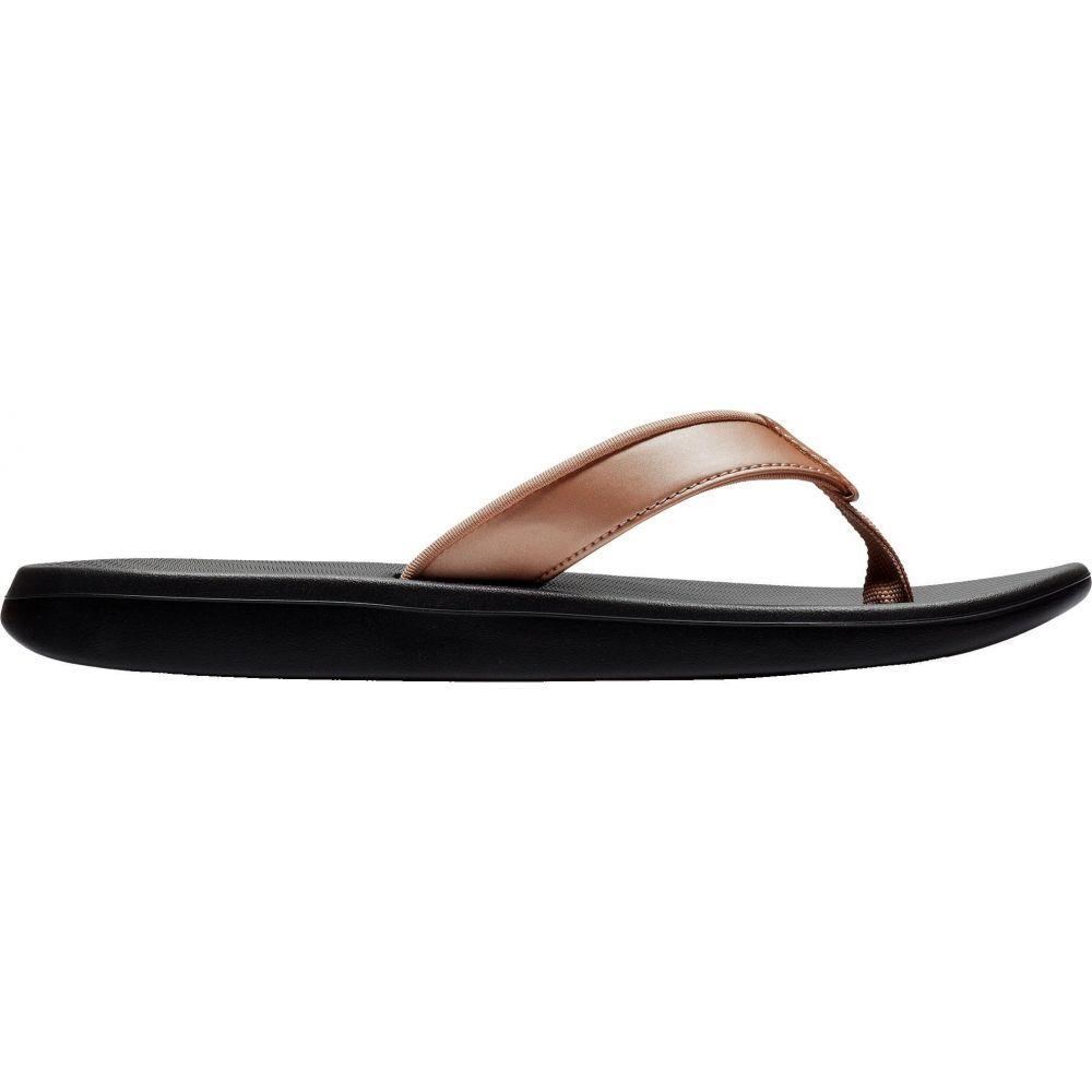 ナイキ Nike レディース ビーチサンダル シューズ・靴【Bella Kai Flip Flops】Black/Bronze