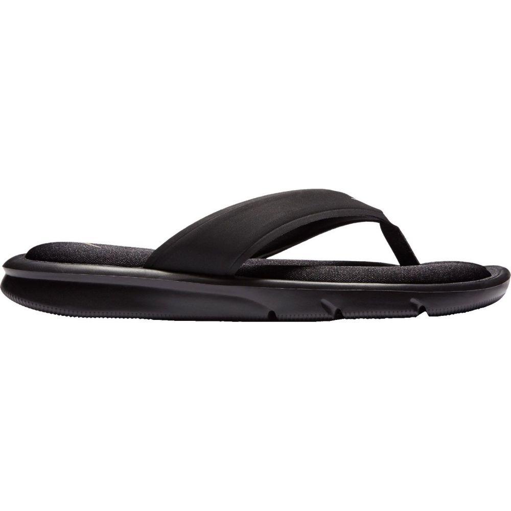 ナイキ Nike レディース ビーチサンダル シューズ・靴【Ultra Comfort Thong Flip Flops】Black/White