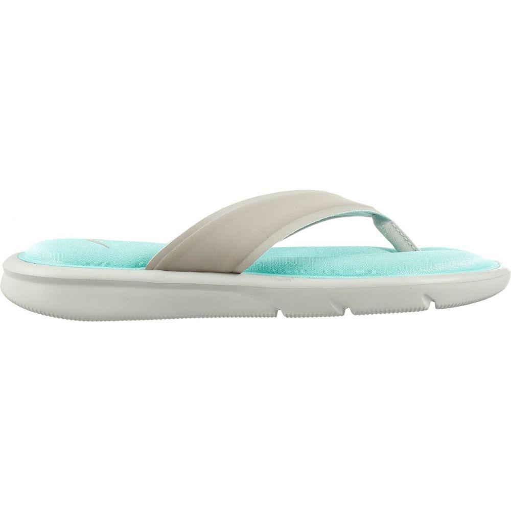 ナイキ Nike レディース ビーチサンダル シューズ・靴【Ultra Comfort Thong Flip Flops】Grey/Blue