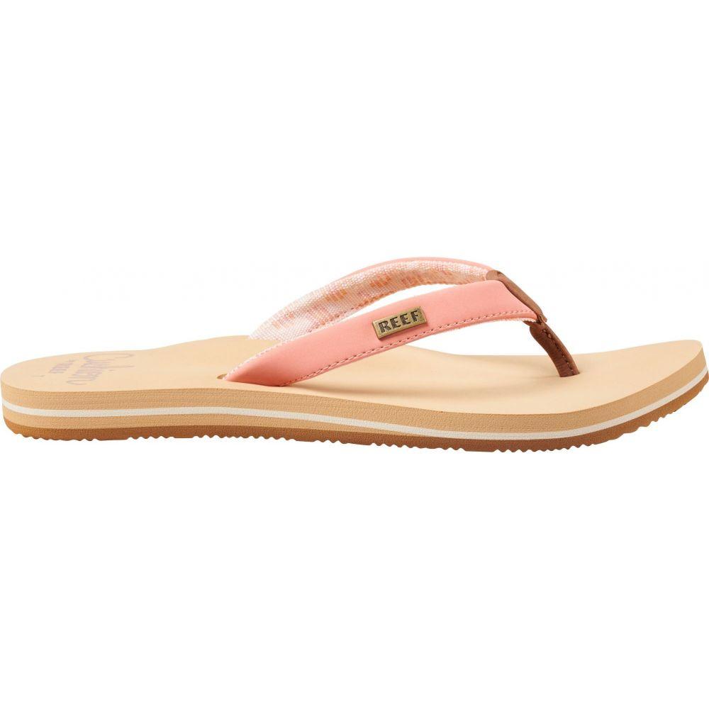 リーフ Reef レディース ビーチサンダル シューズ・靴【Cushion Sands Flip Flops】Cantaloupe