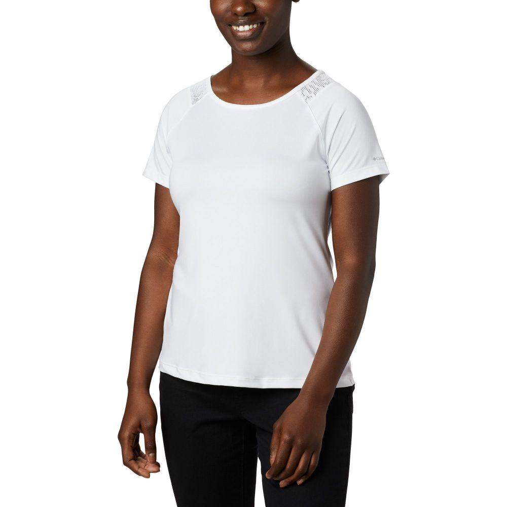コロンビア Columbia レディース Tシャツ トップス【Peak to Point II T-Shirt】White