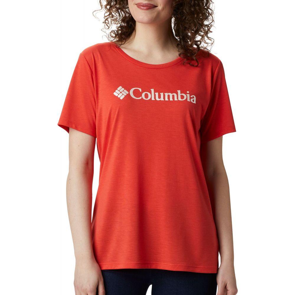 コロンビア Columbia レディース Tシャツ トップス【Lava Lake II Graphic T-Shirt】Bright Poppy/CSC Branded