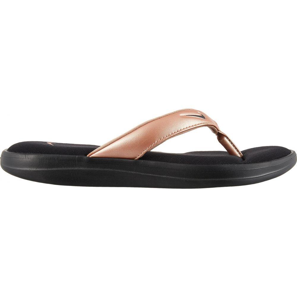 ナイキ Nike レディース ビーチサンダル シューズ・靴【Ultra Comfort 3 Flip Flops】Black/Bronze