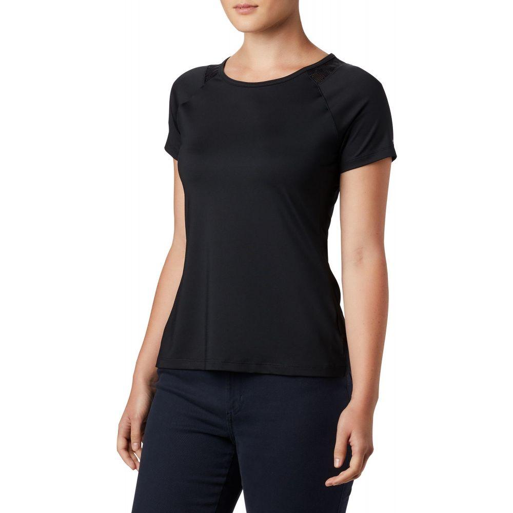 コロンビア Columbia レディース Tシャツ トップス【Peak to Point II T-Shirt】Black