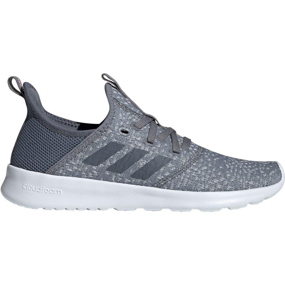 アディダス adidas レディース スニーカー シューズ・靴【Cloudfoam Pure Shoes】Grey/White