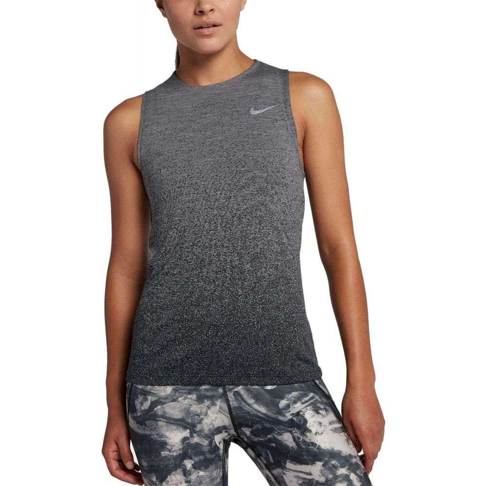 ナイキ Nike レディース ランニング・ウォーキング タンクトップ トップス【Medalist Running Tank Top】Gunsmoke/Black