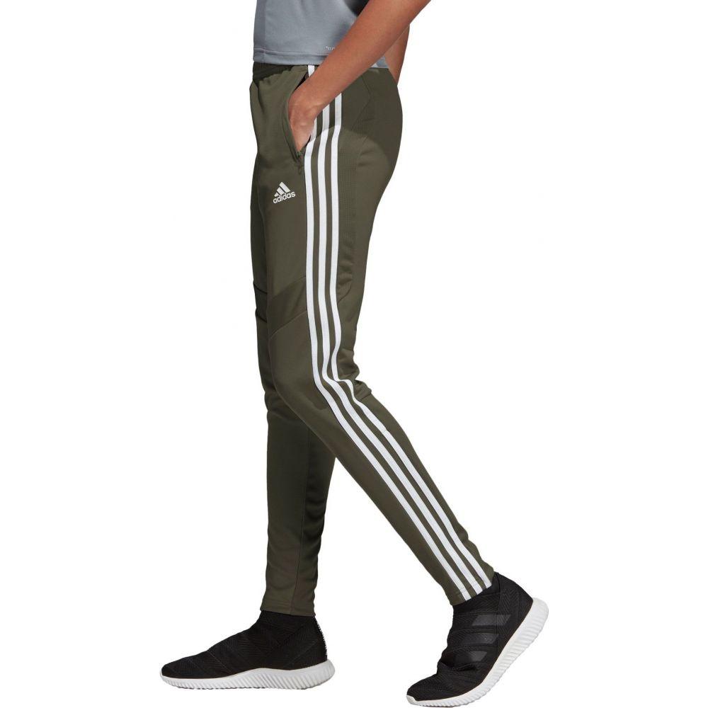 アディダス adidas レディース フィットネス・トレーニング ボトムス・パンツ【Tiro 19 Training Pants】Raw Khaki/White