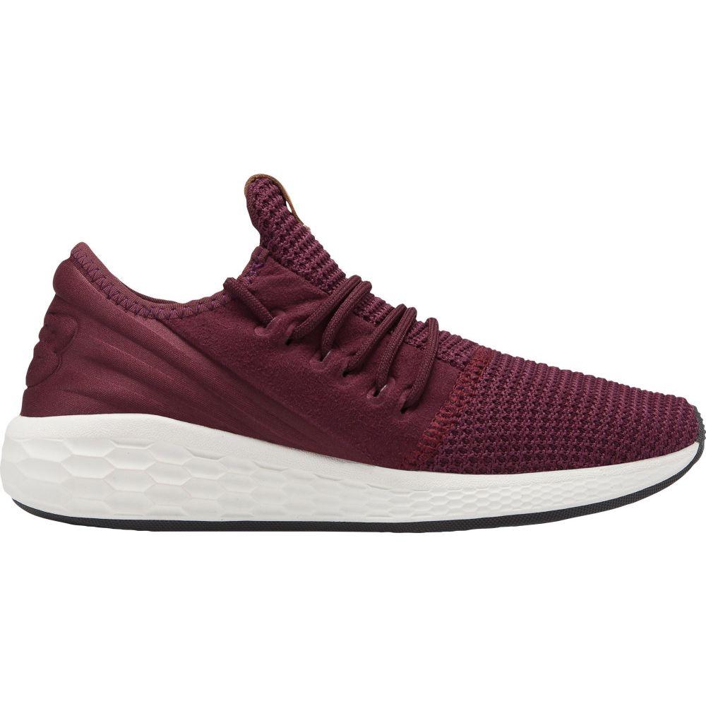 ニューバランス New Balance レディース ランニング・ウォーキング シューズ・靴【Fresh Foam Cruz v2 Decon Running Shoes】Maroon/White