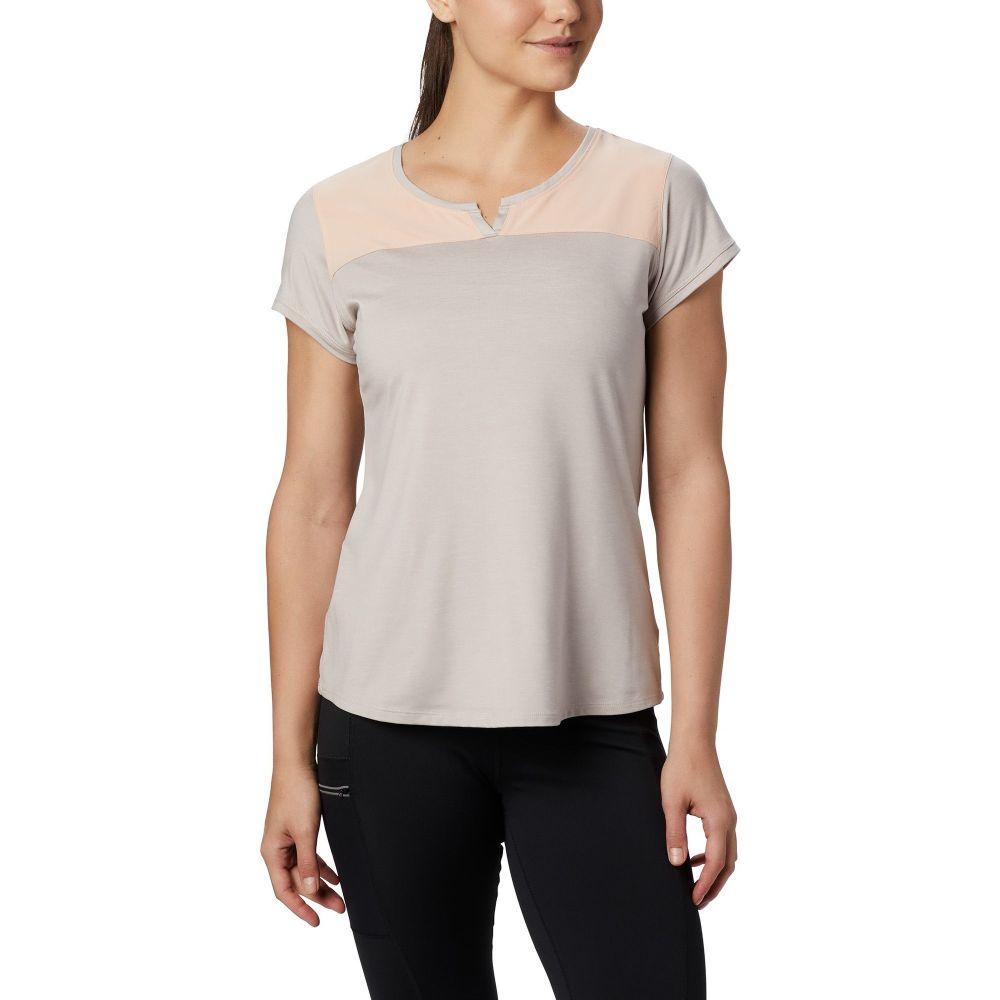 コロンビア Columbia レディース トップス 【Place to Place II Short Sleeve Shirt】Peach Cloud Heather