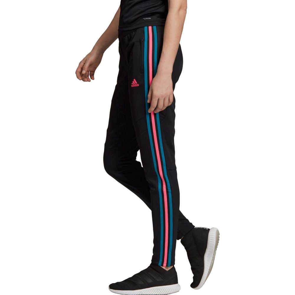 アディダス adidas レディース フィットネス・トレーニング ボトムス・パンツ【Tiro 19 Training Pants】Black/Pink/Teal