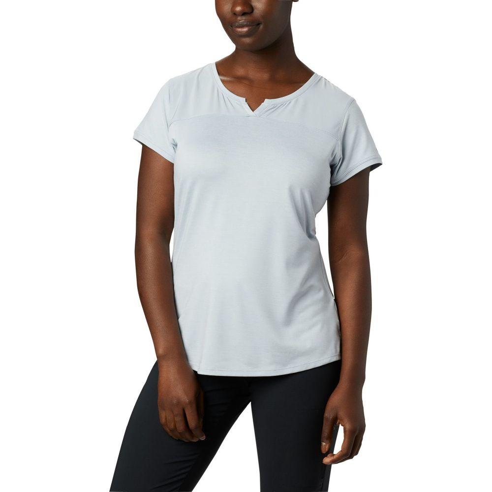 コロンビア Columbia レディース トップス 【Place to Place II Short Sleeve Shirt】Cirrus Grey Heather