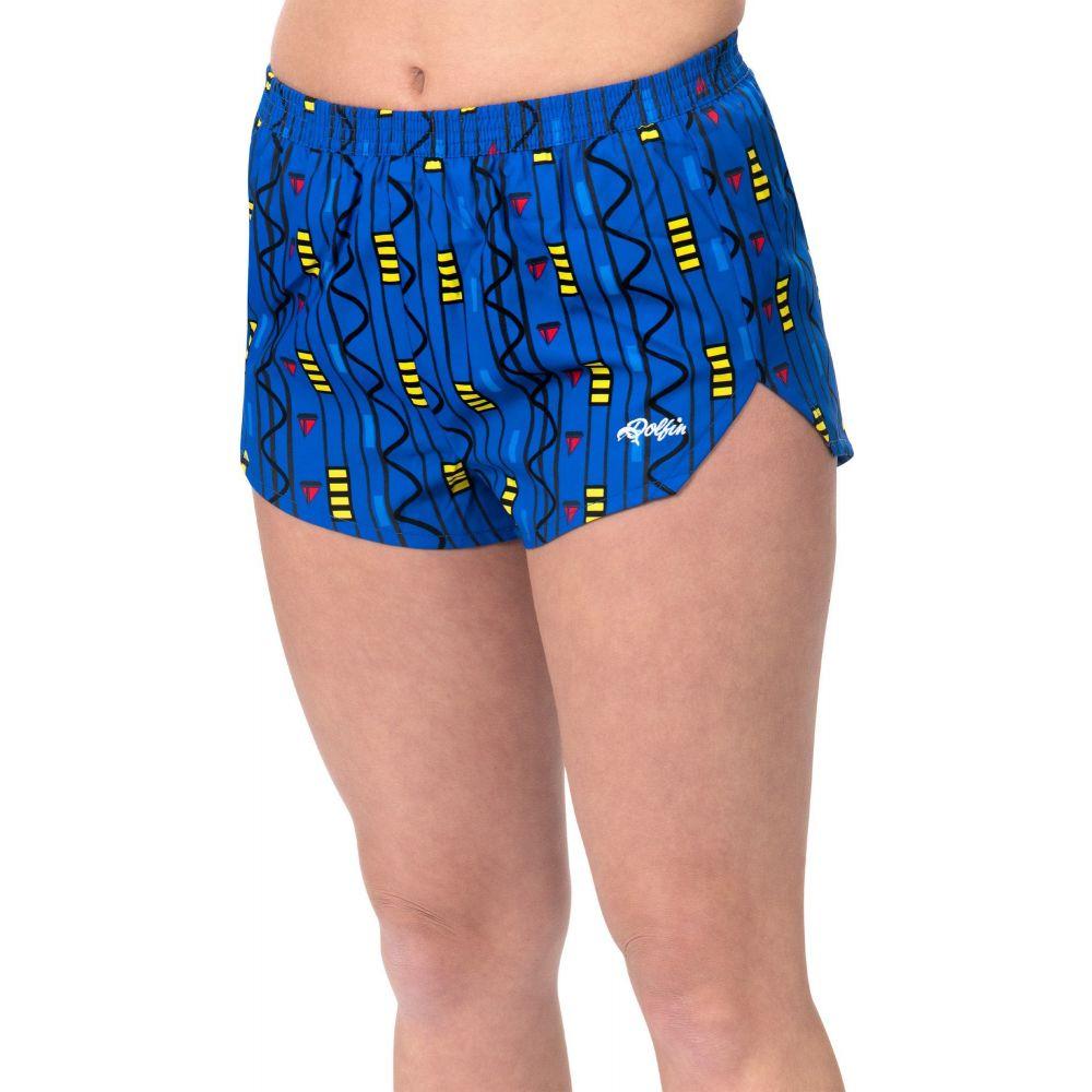 ドルフィン Dolfin レディース ランニング・ウォーキング ショートパンツ ボトムス・パンツ【Print Running Shorts】Tribal Stripe