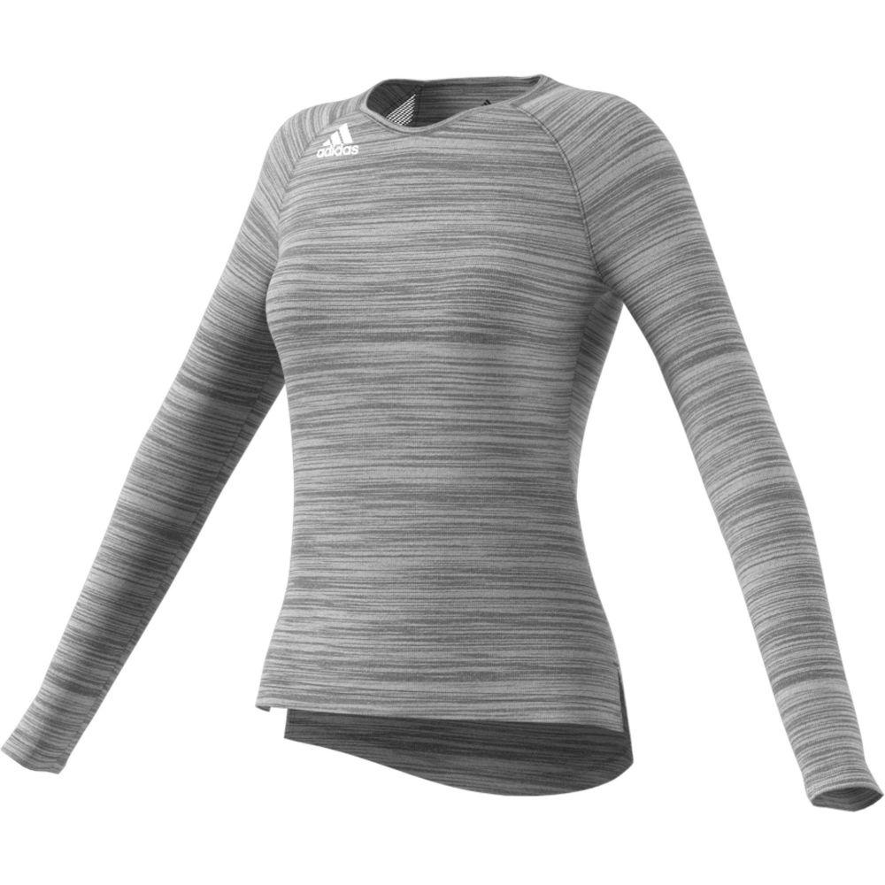 アディダス adidas レディース トップス 【Adidas HiLo Long Sleeve Jersey】Black/White